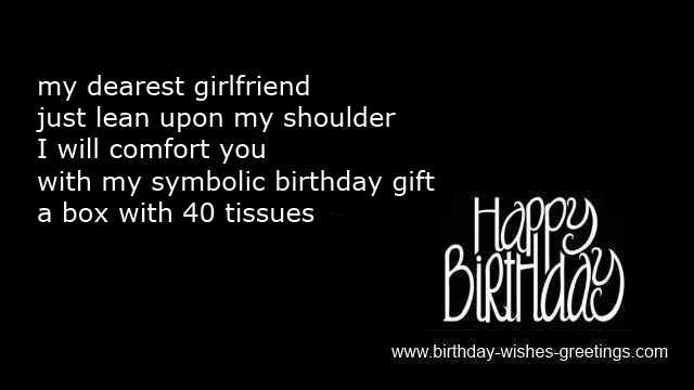 40th birthday husband funny quotes