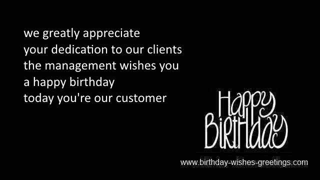 Birthday wishes employees and happy bday greetings employees