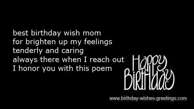 mother birthday wishes toddlers