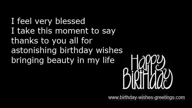 Thanks Quotes For Birthday Wishes To Friend Vicky s daily fashion – Thanks for the Birthday Greeting