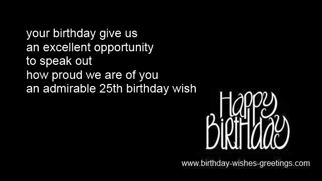 quotes 25th birthday wife
