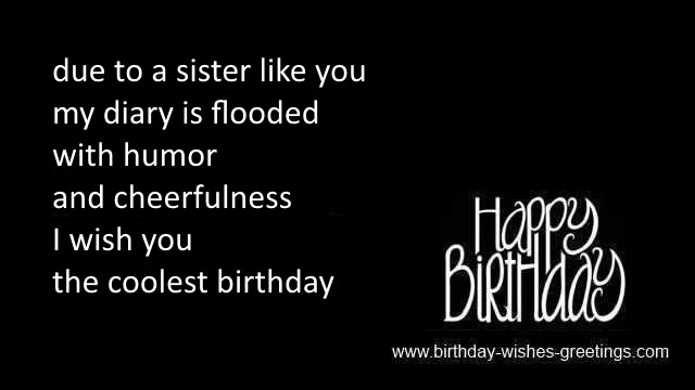 happy birthday sayings for sister in heaven
